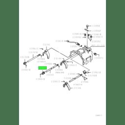 JAW,M/T GEARSHIFT 2ND & 3RD RAIL 1